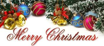 Χριστούγεννα εμβλημάτων στοκ φωτογραφίες με δικαίωμα ελεύθερης χρήσης