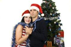 Χριστούγεννα εορτασμού Στοκ εικόνες με δικαίωμα ελεύθερης χρήσης