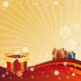 Χριστούγεννα εορτασμού &al διανυσματική απεικόνιση