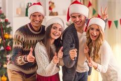 Χριστούγεννα εορτασμού &ep Στοκ Φωτογραφία