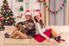 Χριστούγεννα εορτασμού &ep Στοκ Εικόνα