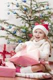 Χριστούγεννα ευτυχή Στοκ Φωτογραφία
