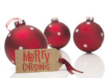 Χριστούγεννα ευτυχή Στοκ Εικόνα