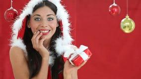 Χριστούγεννα ευτυχή απόθεμα βίντεο