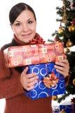 Χριστούγεννα ευτυχή Στοκ φωτογραφίες με δικαίωμα ελεύθερης χρήσης