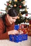Χριστούγεννα ευτυχή Στοκ εικόνα με δικαίωμα ελεύθερης χρήσης