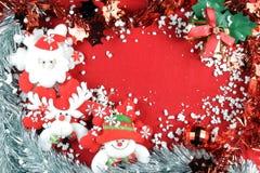 Χριστούγεννα 3 εύθυμα στοκ φωτογραφία