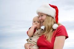 Χριστούγεννα εύθυμα Στοκ Εικόνα