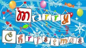 Χριστούγεννα εύθυμα διανυσματική απεικόνιση