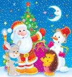 Χριστούγεννα εύθυμα Στοκ εικόνες με δικαίωμα ελεύθερης χρήσης
