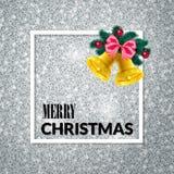 Χριστούγεννα εύθυμα background colors holiday red yellow Ευχετήρια κάρτα Χριστουγέννων αφίσα διανυσματική απεικόνιση