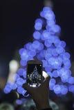 Χριστούγεννα η διανυσματική έκδοση δέντρων χαρτοφυλακίων μου Στοκ Εικόνα