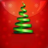 Χριστούγεννα η διανυσματική έκδοση δέντρων χαρτοφυλακίων μου Ελεύθερη απεικόνιση δικαιώματος