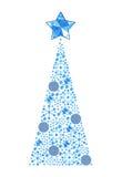 Χριστούγεννα η διανυσματική έκδοση δέντρων χαρτοφυλακίων μου Στοκ Φωτογραφία