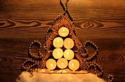 Χριστούγεννα η διανυσματική έκδοση δέντρων χαρτοφυλακίων μου Στοκ Εικόνες