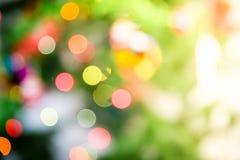Χριστούγεννα διακοπές Bokeh αφηρημένα Χριστούγεννα ανασκόπησης Στοκ φωτογραφία με δικαίωμα ελεύθερης χρήσης