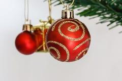 Χριστούγεννα διακοσμήσεων Στοκ Φωτογραφία