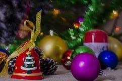 Χριστούγεννα, διακόσμηση, έτος, νέο, διακοπές, ντεκόρ, περίκομψο Στοκ Φωτογραφίες