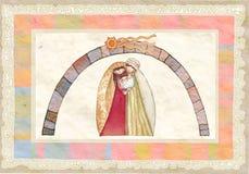 Χριστούγεννα: Ιησούς Χριστός, Joseph, Mary ελεύθερη απεικόνιση δικαιώματος