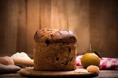 Χριστούγεννα ιταλικά κέικ Στοκ εικόνα με δικαίωμα ελεύθερης χρήσης