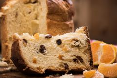 Χριστούγεννα ιταλικά κέικ Στοκ Εικόνες