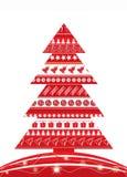Χριστούγεννα ι ανασκόπησης διάνυσμα απεικόνιση αποθεμάτων