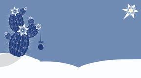 Χριστούγεννα κάκτων Στοκ φωτογραφία με δικαίωμα ελεύθερης χρήσης
