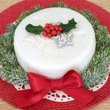 Χριστούγεννα κέικ παραδ&omicron Στοκ φωτογραφίες με δικαίωμα ελεύθερης χρήσης