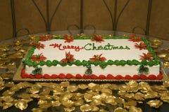 Χριστούγεννα κέικ Στοκ Φωτογραφία