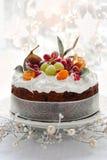 Χριστούγεννα κέικ Στοκ φωτογραφίες με δικαίωμα ελεύθερης χρήσης