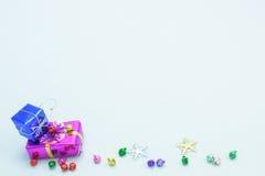 Χριστούγεννα και ένα εορταστικό νέο έτος Στοκ Εικόνες