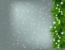Χριστούγεννα και ανασκόπηση καλής χρονιάς απεικόνιση αποθεμάτων