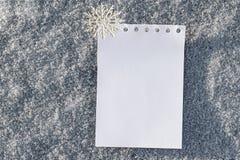 Χριστούγεννα και νέα ανασκόπηση έτους Στοκ Φωτογραφία