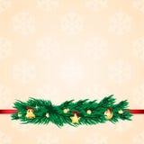 Χριστούγεννα και νέα ανασκόπηση έτους Στοκ Φωτογραφίες