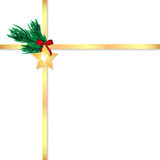 Χριστούγεννα και νέα ανασκόπηση έτους Στοκ εικόνες με δικαίωμα ελεύθερης χρήσης