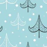 Χριστούγεννα και νέα διανυσματικά άνευ ραφής σχέδια έτους Στοκ εικόνα με δικαίωμα ελεύθερης χρήσης