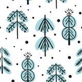 Χριστούγεννα και νέα διανυσματικά άνευ ραφής σχέδια έτους Στοκ φωτογραφίες με δικαίωμα ελεύθερης χρήσης