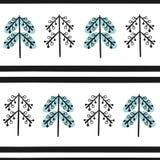 Χριστούγεννα και νέα διανυσματικά άνευ ραφής σχέδια έτους Στοκ Εικόνα