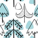 Χριστούγεννα και νέα διανυσματικά άνευ ραφής σχέδια έτους Στοκ φωτογραφία με δικαίωμα ελεύθερης χρήσης