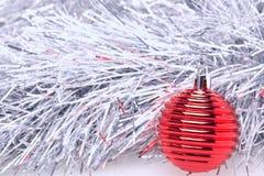 Χριστούγεννα και νέα ευχετήρια κάρτα έτους Στοκ Φωτογραφία