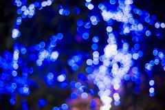 Χριστούγεννα και νέα φω'τα Bokeh έτους Στοκ εικόνα με δικαίωμα ελεύθερης χρήσης
