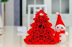 Χριστούγεννα και νέο έτος, κόσμημα, δέντρο, σύμβολα Στοκ Φωτογραφία
