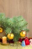 Χριστούγεννα και νέο έτος Στοκ εικόνες με δικαίωμα ελεύθερης χρήσης