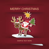 Χριστούγεννα και νέο έτος Στοκ Φωτογραφίες