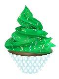 Χριστούγεννα και νέο έτος cupcake Στοκ φωτογραφία με δικαίωμα ελεύθερης χρήσης