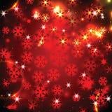 Χριστούγεννα και νέο λαμπυρίζοντας υπόβαθρο έτους Στοκ Φωτογραφίες