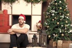 Χριστούγεννα και νέο εσωτερικό δωματίων έτους στοκ φωτογραφία με δικαίωμα ελεύθερης χρήσης