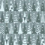 Χριστούγεννα και νέο πρότυπο σχεδίων έτους άνευ ραφής επίσης corel σύρετε το διάνυσμα απεικόνισης Στοκ φωτογραφία με δικαίωμα ελεύθερης χρήσης