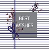 Χριστούγεννα και νέο σχέδιο έτους με τους όμορφους κλάδους εγκαταστάσεων, pap στοκ εικόνες με δικαίωμα ελεύθερης χρήσης