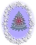 Χριστούγεννα και νέο σχέδιο έτους Στοκ Φωτογραφία